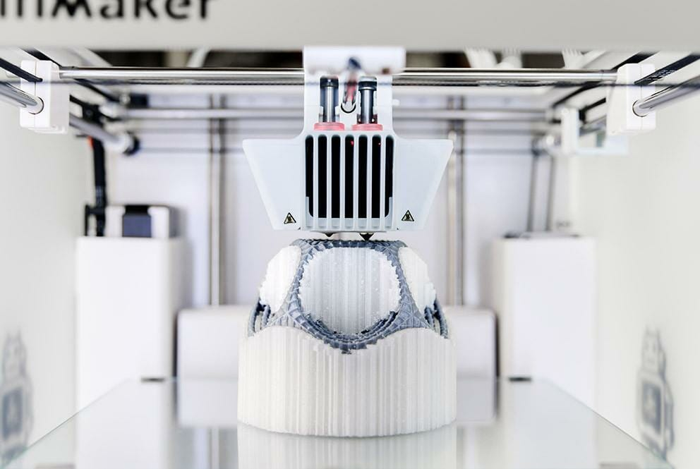impresora 3D doble cabezal, ultimaker 3
