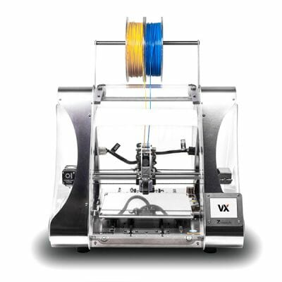 Vista frontal de la Impresora 3D Zmorph VX