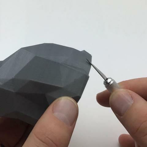 Cuchillo de precisión PrintaKit ideal para eliminar imperfecciones