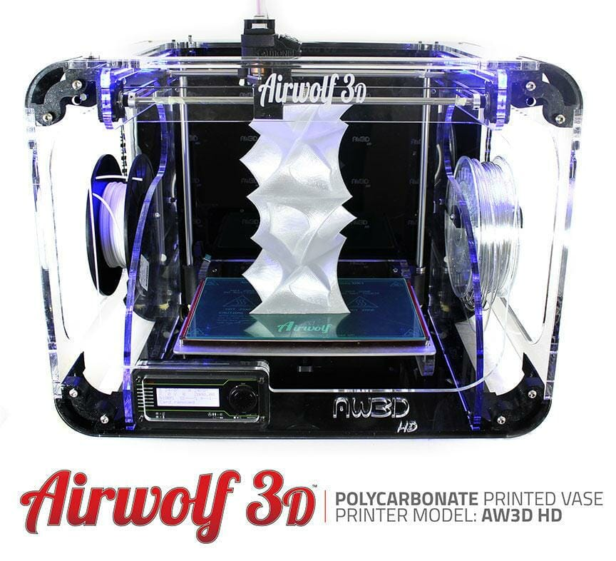 Airwolf 3d crea la primera impresora 3d asequible con for Primera impresora 3d