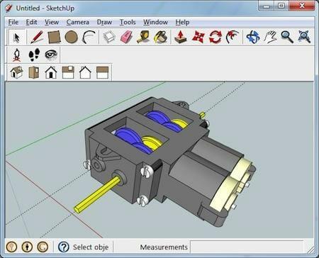 Programas de dise o 3d gratuitos para principiantes for Programa para dibujar en 3d
