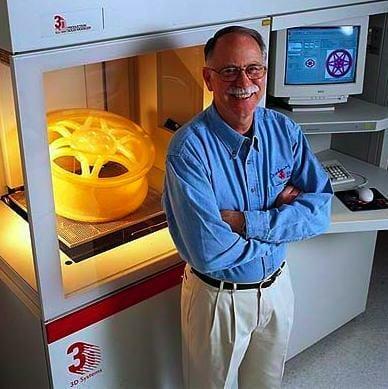 Chuck Hull Historia de la Impresion 3D