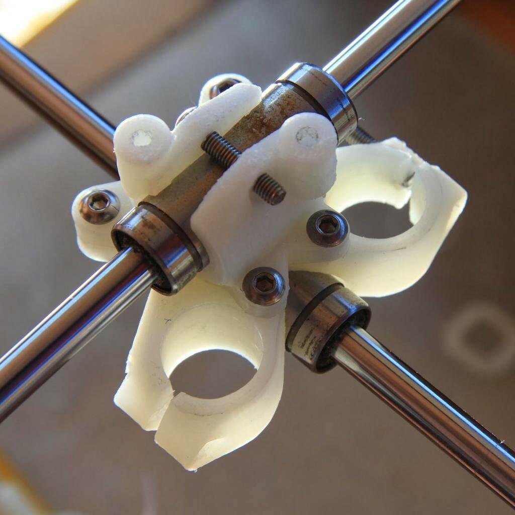 pieza impresa 3D en nylon