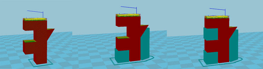 Voladizo en impresión 3D