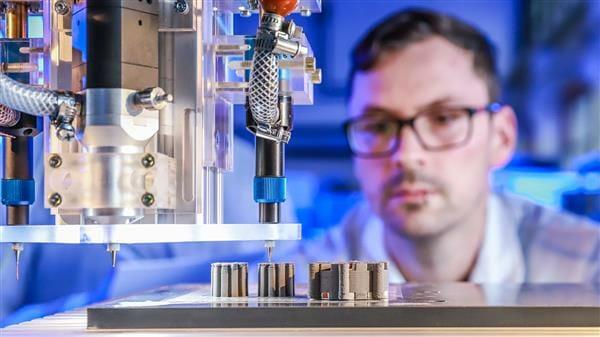 Proceso de impresión 3D de los motores eléctricos