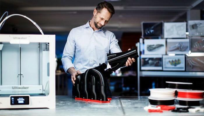 Impresora 3D Ultimaker S5.