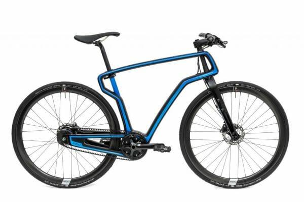 Marco de bicicleta fabrica con impresión 3D de AREVO.