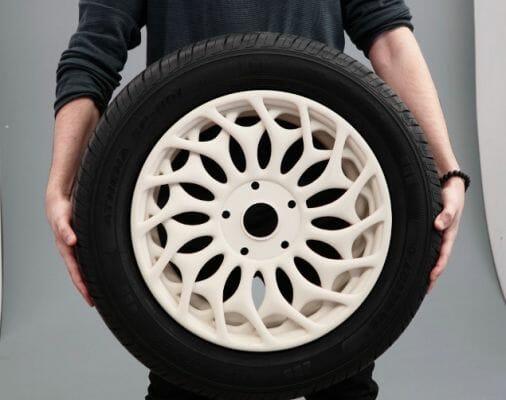 Llantas fabricadas con impresión 3D de Marco Mattia Cristofori.