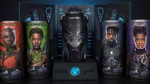 Envases coleccionables de Black Panther Marvel