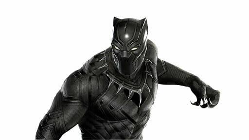 Pantera Negra de Marvel
