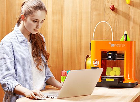 impresora 3D da Vinci Mini w de XYZprinting