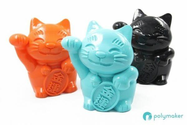 Modelos impresos en 3D tratados con Polysher