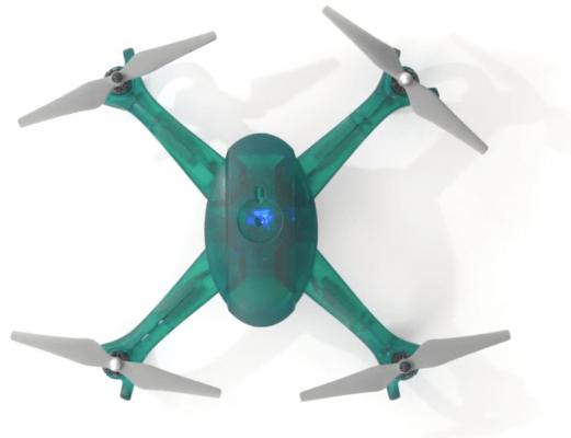 Dron impreso en 3D con Resina Tought de Formlabs
