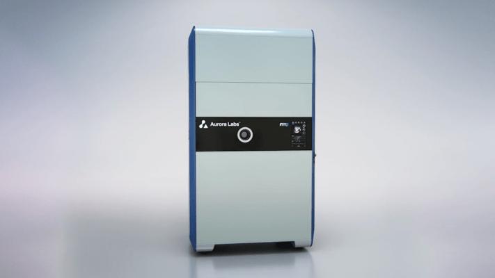 La impresora Alpha 3D. Fotografía por medio de Aurora Labs.