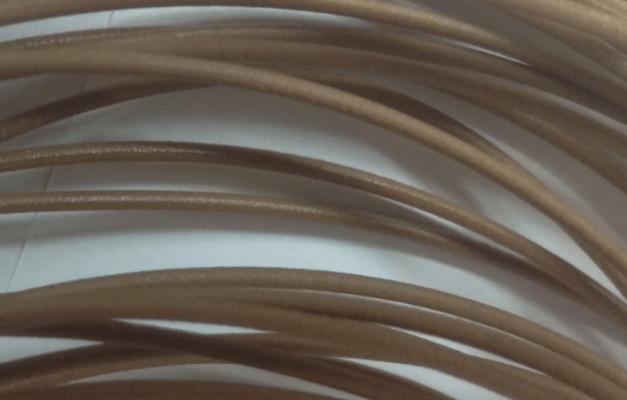 El filamento WPC hecho con el reciclador de código abierto.