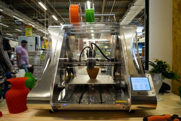 La impresora 3D ZMorph VX de Leroy Merlin.