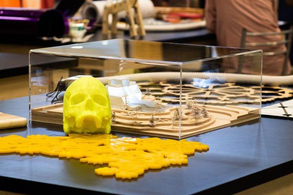 Proyectos de impresión 3D y corte por láser de Leroy Merlin Bricolab.