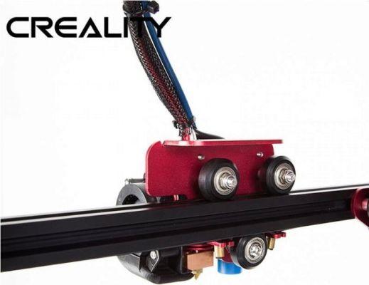 Detalle Extrusor Creality CR-10S PRO