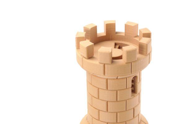 Prueba impresa en 3D con Easywood Pine