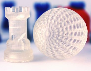 Modelos impresos en 3D con Resina Monocure 3D
