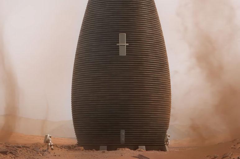 MARSHA NASA Premio impresion 3d