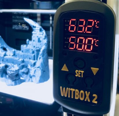 Controlador temperatura kit de cama caliente