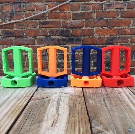 4- Pedales Impresos en 3D para bicicleta