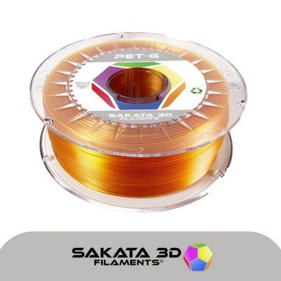 Filamento PETG Ambar de Sakata 3D