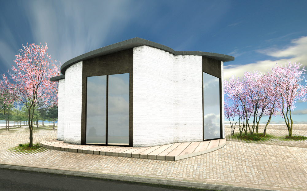 primer edificio en europa impreso en 3D