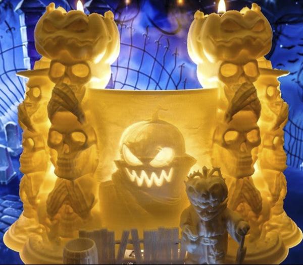 Litofania-Halloween