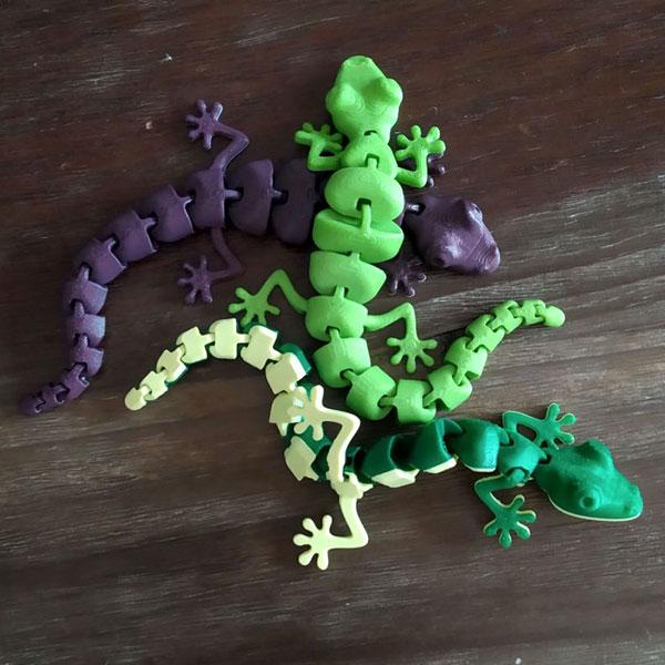 juguete_impresion_3D_Lagartija_articulable