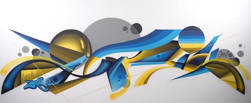 Pintura Lienzo Spray MTN 94