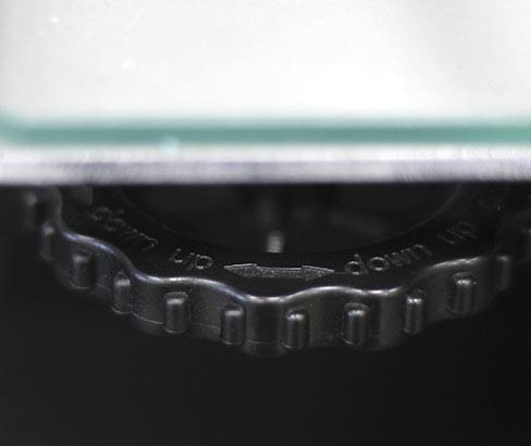 ruedas para nivelar cama impresora 3D