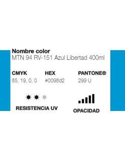 MTN 94 Azul Libertad