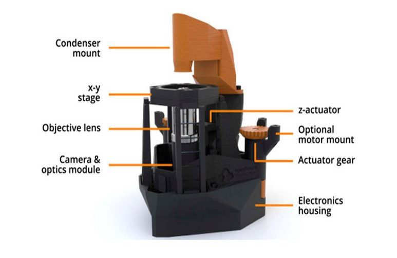 Montaje microscopio