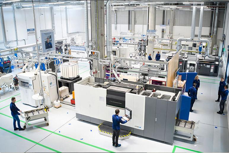 Fabricación aditiva BMW