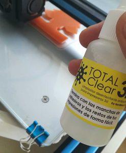 Total Clear3D Limpiador Desinfectante Impresoras3D