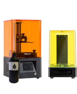 Pack Impresora 3D Resina y Maquina de Lavado y Curado