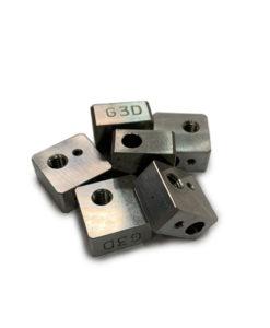 Bloque Aluminio para hotend