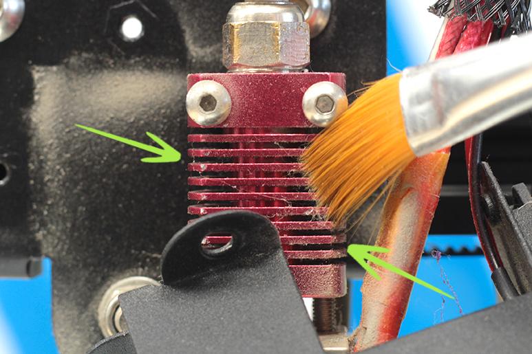 Limpieza y Mantenimiento de la Impresora 3D