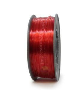 PETG i3DTested Rojo Translucido