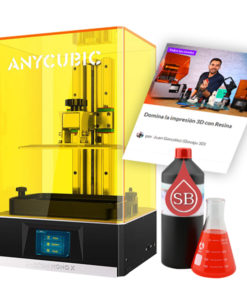 Pack Anycubic Mono X Curso Resina